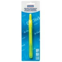 Zakreślacz automatyczny DONAU D-Click, 1-4mm (linia), blister, żółty, Textmarkery, Artykuły do pisania i korygowania