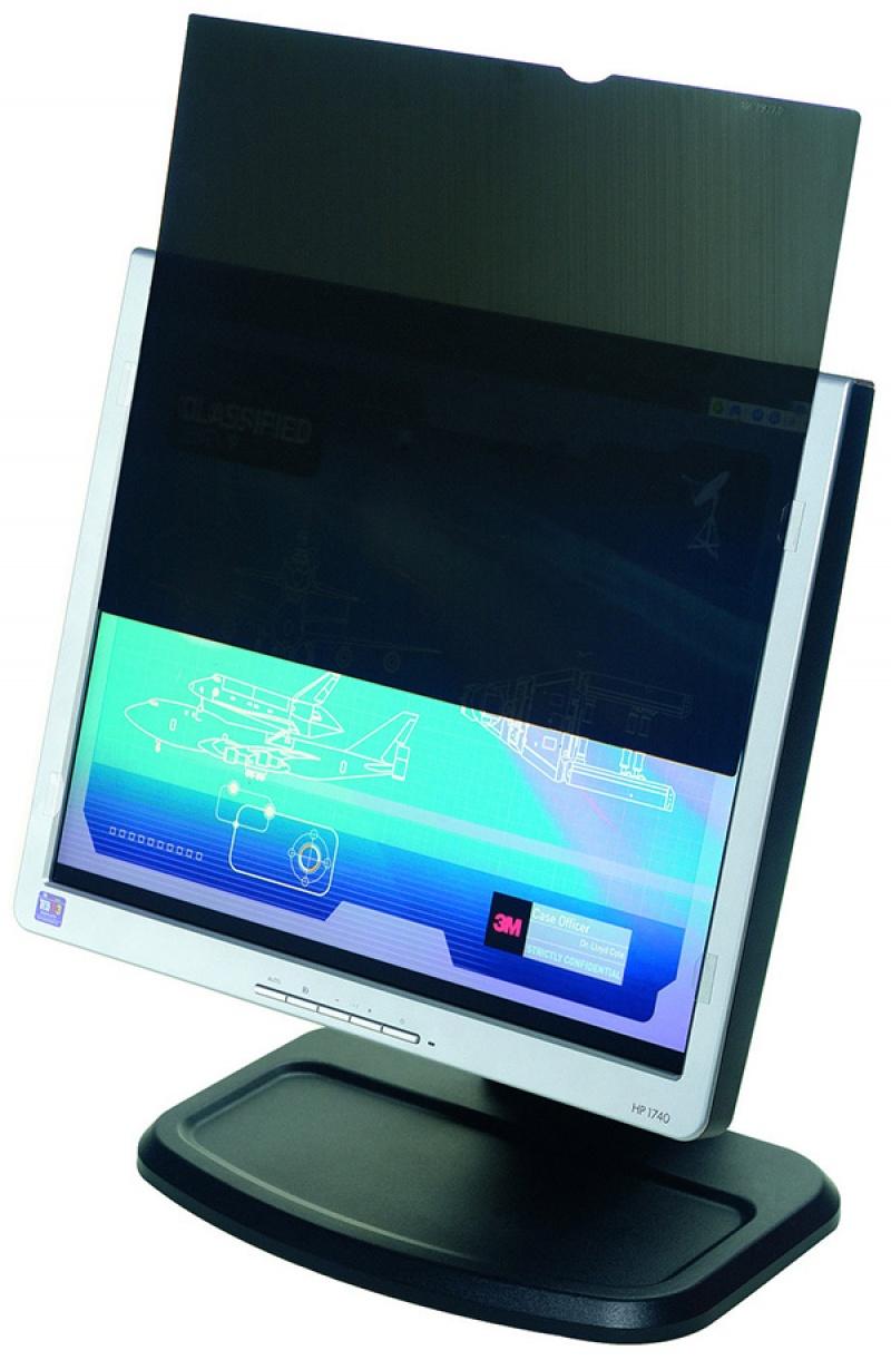 """Bezramkowy filtr prywatyzujący 3M™ (PF19.5W9)do monitorów, 16:9, 19,5"""", czarny, Filtry, Akcesoria komputerowe"""