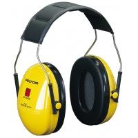 Nauszniki na głowę 3M Peltor™ (H520AK), zółte, Nauszniki, Ochrona indywidualna