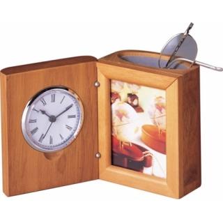 Zegarek 3w1 Bestar jasna wiśnia, Zegary, Wyposażenie biura