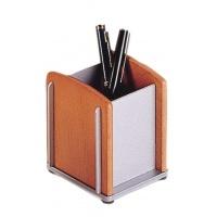 Pojemnik na długopisy Bestar jasna wiśnia, Przyborniki na biurko, Drobne akcesoria biurowe