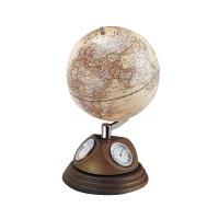 """Globus 5"""" stacja meteorologiczna Bestar orzech, Globusy, Wyposażenie biura"""