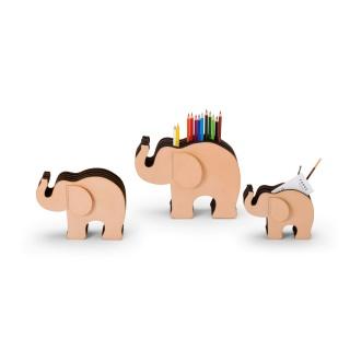 Przybornik na biurku Elephant Graf von Faber-Castell, rozmiar M + 12 kredek Polychromos, Przyborniki na biurko, Drobne akcesoria biurowe