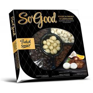 Mieszanka bakali w czekoladzie BAKAL So Good, 370g, Przekąski, Artykuły spożywcze