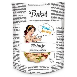 Pistacje prażone solone BAKAL Vintage, 80g, Przekąski, Artykuły spożywcze