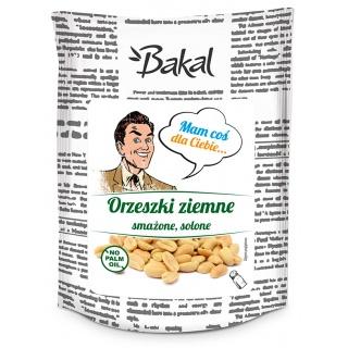 Orzechy ziemne prażone solone BAKAL Vintage, 150g, Przekąski, Artykuły spożywcze