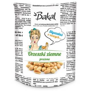 Orzechy ziemne prażone BAKAL Vintage, 150g, Przekąski, Artykuły spożywcze