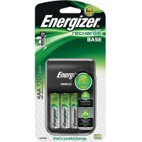Ładowarka ENERGIZER Base + 4 szt. akumulatorków AA, Akumulatorki i ładowarki, Urządzenia i maszyny biurowe