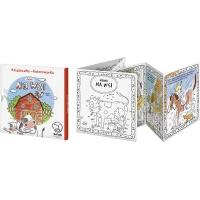 Książeczka kolorowanka MONUMI Dzień na Wsi, Produkty kreatywne, Artykuły szkolne