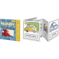 Książeczka kolorowanka MONUMI Pojazdy, Produkty kreatywne, Artykuły szkolne