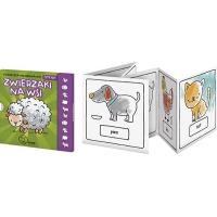 Książeczka kolorowanka MONUMI Zwierzaki na Wsi, Produkty kreatywne, Artykuły szkolne