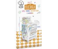 Kolorowanka XXL 3D MONUMI Kuchnia, Produkty kreatywne, Artykuły szkolne