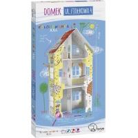 Kolorowanka XXL 3D MONUMI Domek ul. Fiołkowa 4, Produkty kreatywne, Artykuły szkolne