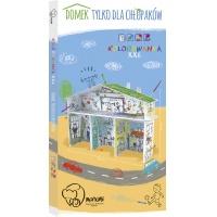 Kolorowanka XXL 3D MONUMI Domek Dla Chłopaków, Produkty kreatywne, Artykuły szkolne