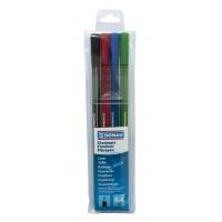 Cienkopis DONAU D-Fine, 0,4 mm, 4 szt., mix kolorów(7362904PL-99), Promocje, ~ Nagrody