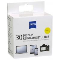 Chusteczki do czyszczenia ekranów, tabletów i laptopów ZEISS, 30 szt., białe, Środki czyszczące, Akcesoria komputerowe