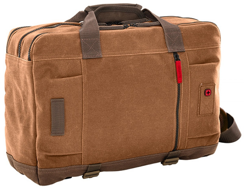 Torba dwufunkcyjna WENGER Mandria, 15,6'', 320x420x230mm, wielbłądzi, Torby, teczki i plecaki, Akcesoria komputerowe