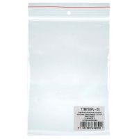 Gripseal Bags DONAU, PP, 40x60mm, 100pcs, transparent