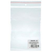 Gripseal Bags DONAU, PP, 100x200mm, 100pcs, transparent