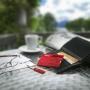 Scyzoryk VICTORINOX Swisscard Classic, celidor, 82mm, transparentny czerwony, Scyzoryki, Ochrona indywidualna