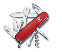 Scyzoryk VICTORINOX Climber, celidor, 91mm, czerwony, Scyzoryki, Ochrona indywidualna