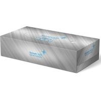 Chusteczki kosmetyczne celulozowe VELVET Profesional Box, 2-warstwowe, 100 listków, biały, Ręczniki papierowe i dozowniki, Artykuły higieniczne i dozowniki