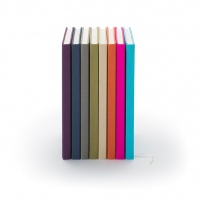 Notes w lnianej oprawie marki Graf von Faber-Castell, kolor Electric Pink, format A5, Notatniki, Papier i galanteria papiernicza