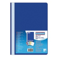 Report File DONAU, PP, A4, standard, 120/180 micron, navy blue
