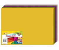 Bibuła gładka GIMBOO, w składkach, 50x70cm, 24ark., mix kolorów, Produkty kreatywne, Artykuły szkolne