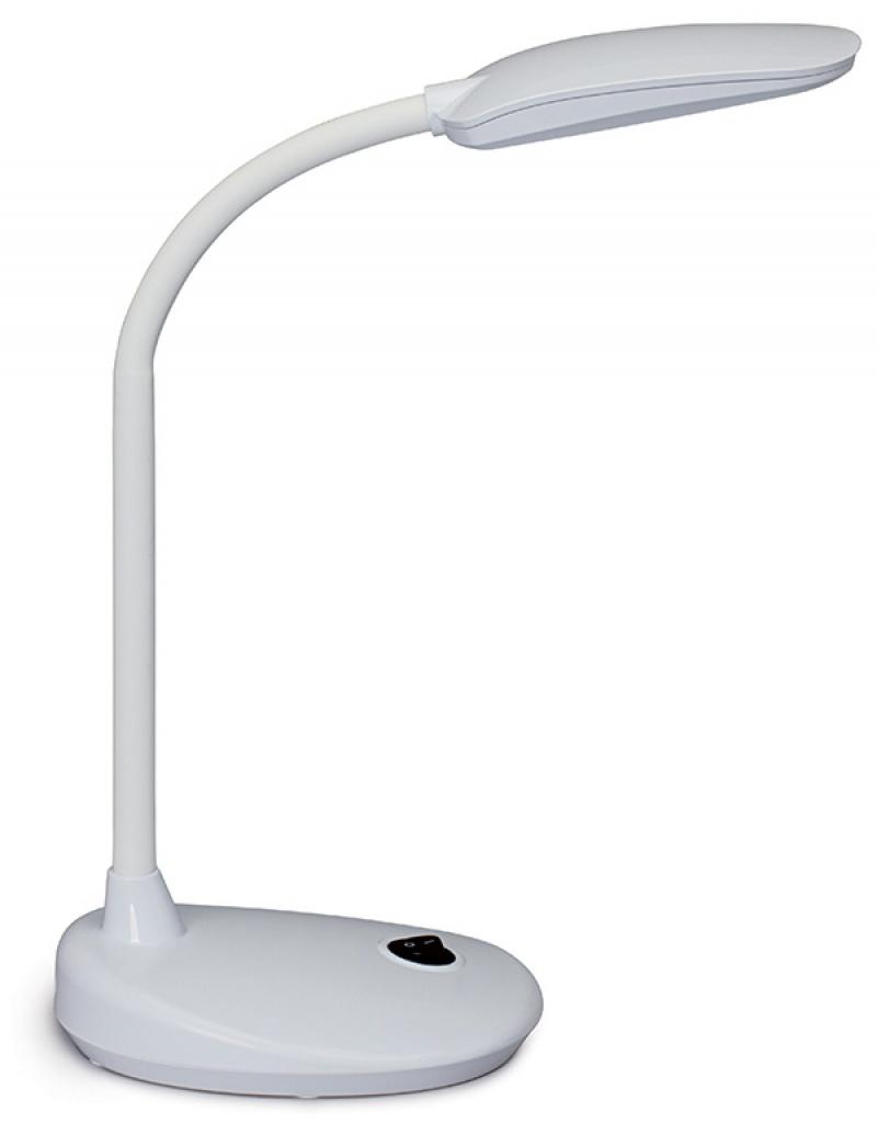 Lampka LED na biurko MAULflexi, 6W, biała, Lampki, Urządzenia i maszyny biurowe