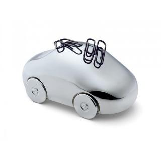 Magnetyczny samochód na spinacze Philippi, Przyborniki na biurko, Drobne akcesoria biurowe
