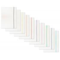 Teczka z gumką OFFICE PRODUCTS, karton/lakier, A4, 300gsm, biała, Teczki płaskie, Archiwizacja dokumentów