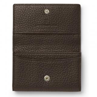 Wizytownik marki Graf von Faber-Castell z kolekcji Cashmere Dark Brown, Wizytowniki, Drobne akcesoria biurowe