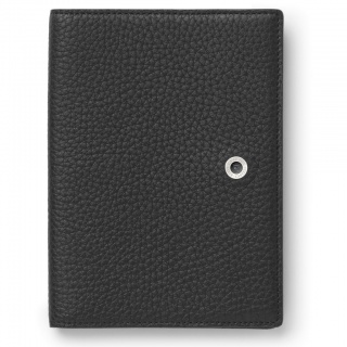 Etui na paszport marki Graf von Faber-Castell z kolekcji Cashmere Black, Portfele, Akcesoria osobiste