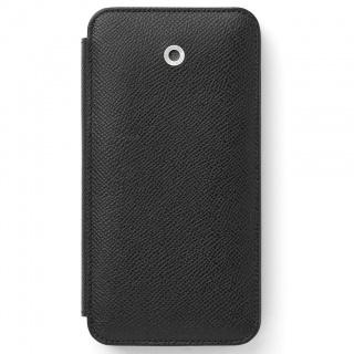 Etui na iPhone 8 marki Graf von Faber-Castell z kolekcji Epsom Black, Etui, Akcesoria komputerowe