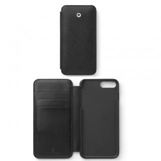 Etui na iPhone 8+ marki Graf von Faber-Castell z kolekcji Epsom Black, Etui, Akcesoria komputerowe