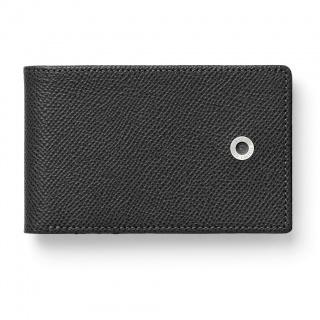 Etui na karty kredytowe marki Graf von Faber-Castell z kolekcji Epsom Black, Portfele, Akcesoria osobiste