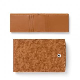 Etui na karty kredytowe marki Graf von Faber-Castell z kolekcji Epsom Cognac, Portfele, Akcesoria osobiste