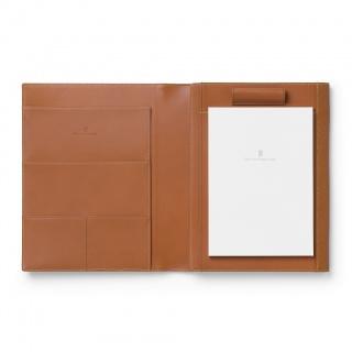 Notes A5 marki Graf von Faber-Castell z kolekcji Epsom Cognac z miejscem na tablet, Notatniki, Papier i galanteria papiernicza