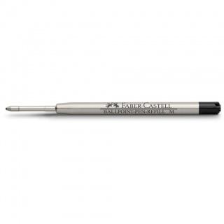 Wkład do długopisów marki Faber-Castell i Graf von Faber-Castell kolor czarny, grubość linii pisania M – średnia, Atramenty, wkłady i naboje, Artykuły do pisania i korygowania