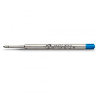 Wkład do długopisów marki Faber-Castell i Graf von Faber-Castell kolor niebieski, grubość linii pisania M – średnia, Atramenty, wkłady i naboje, Artykuły do pisania i korygowania