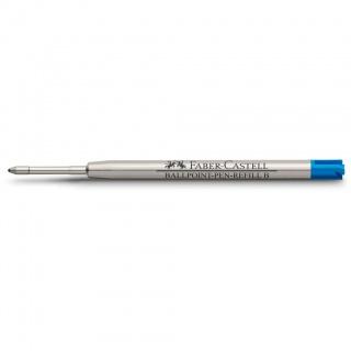 Wkład do długopisów marki Faber-Castell i Graf von Faber-Castell kolor niebieski, grubość linii pisania B – gruba, Atramenty, wkłady i naboje, Artykuły do pisania i korygowania