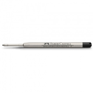 Wkład do długopisów marki Faber-Castell i Graf von Faber-Castell kolor czarny, grubość linii pisania F – cienka, Atramenty, wkłady i naboje, Artykuły do pisania i korygowania