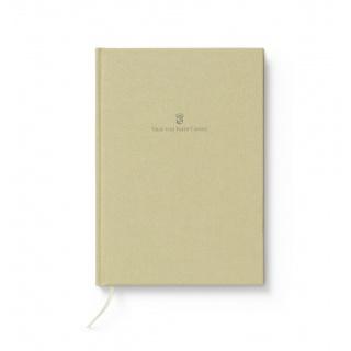 Notes w lnianej oprawie marki Graf von Faber-Castell, kolor Golden Brown, format A4, Notatniki, Papier i galanteria papiernicza