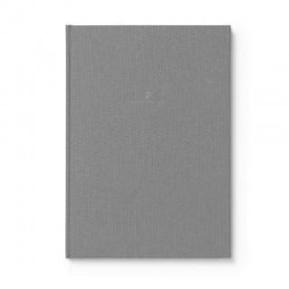 Notes w lnianej oprawie marki Graf von Faber-Castell, kolor Grey, format A4, Notatniki, Papier i galanteria papiernicza