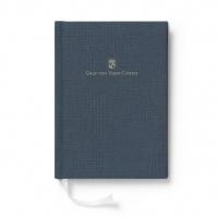 Notes w lnianej oprawie marki Graf von Faber-Castell, kolor Blue, format A4, Notatniki, Papier i galanteria papiernicza