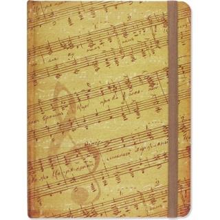 Notatnik Midi Muzyka Sztuka Rodzinna, Notatniki, Papier i galanteria papiernicza