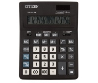 Kalkulator biurowy CITIZEN CDB1601-BK Business Line, 16-cyfrowy, 205x155mm, czarny