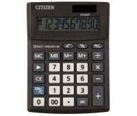 Kalkulator biurowy CITIZEN CMB1001-BK Business Line, 10-cyfrowy, 137x102mm, czarny, Kalkulatory, Urządzenia i maszyny biurowe