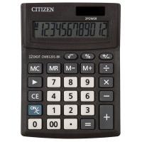 Kalkulator biurowy CITIZEN CMB1201-BK Business Line, 12-cyfrowy, 137x102mm, czarny